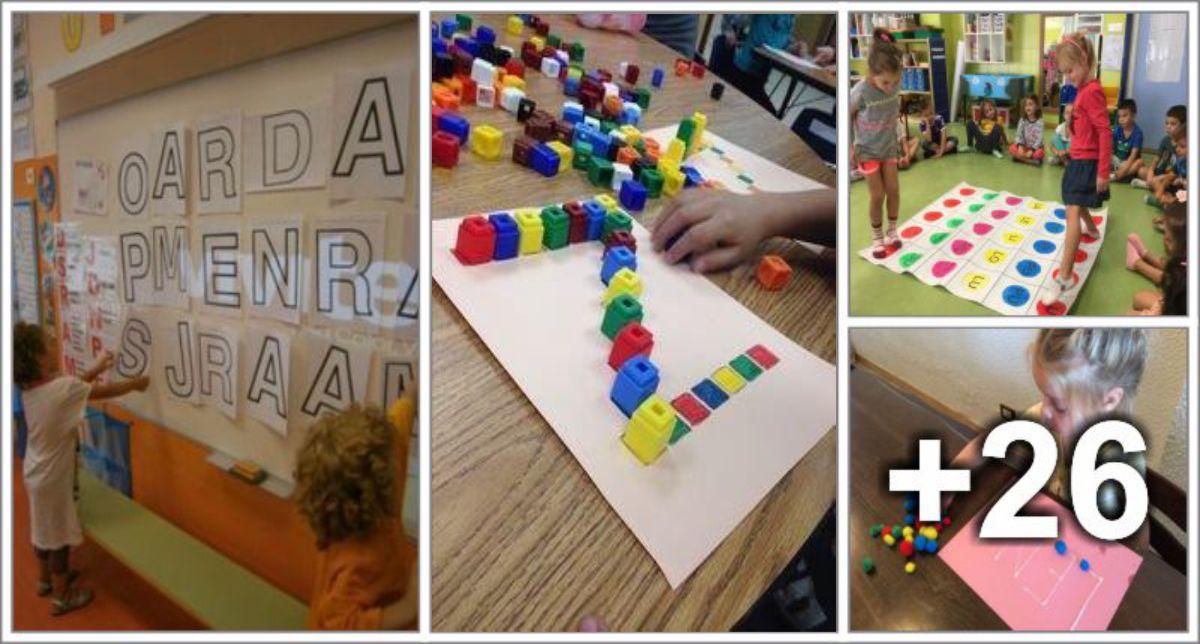 30 Ideias para ensinar o alfabeto