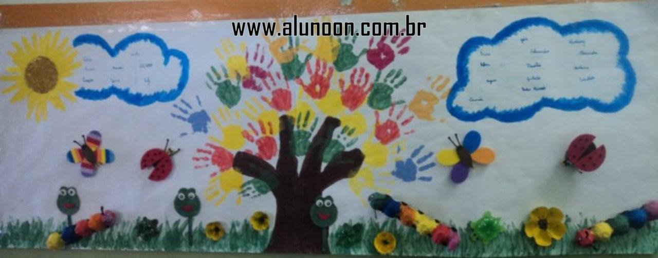 Index of infantil atividades primavera mprimavera for Mural sobre o natal