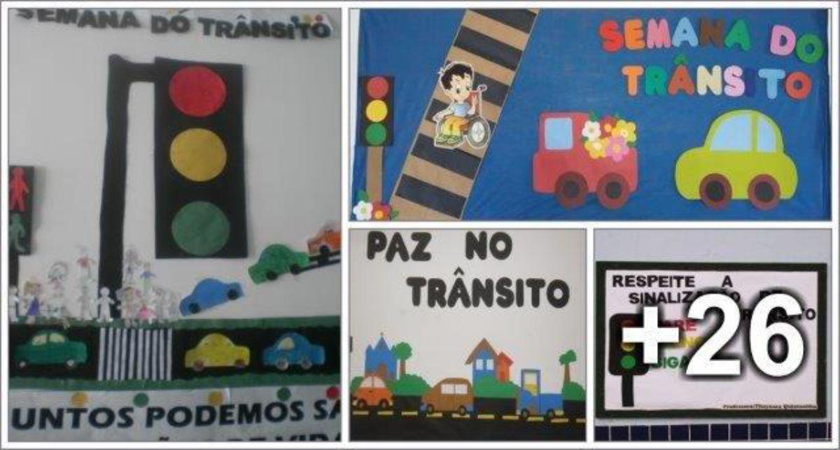 30 Ideias de Murais para o Dia do Trânsito