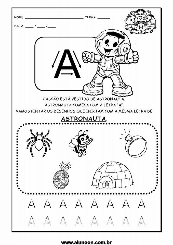 Preferência Atividades com Alfabeto - Educação Infantil - Aluno On KQ16