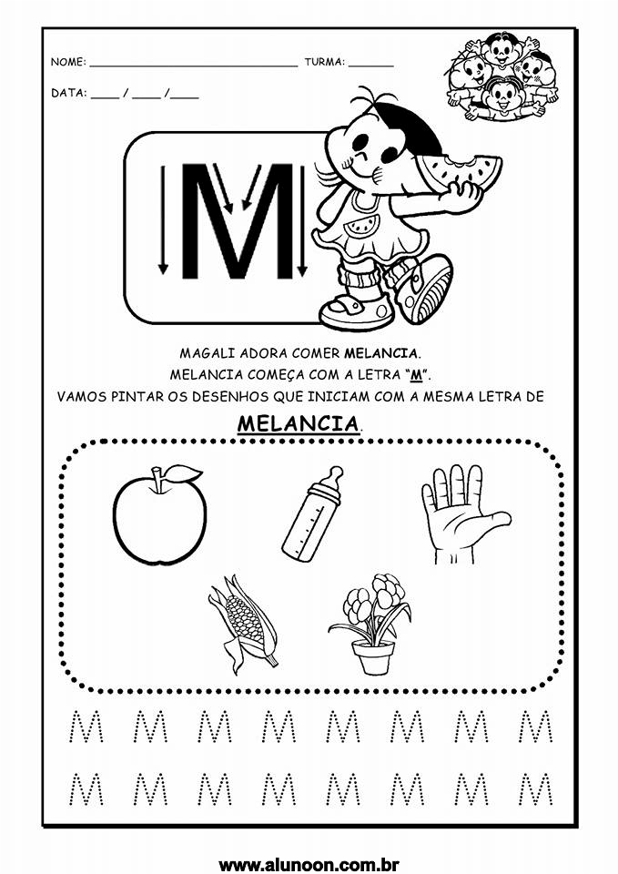 Fabuloso Alfabeto da Turma da Mônica - Aluno On UV34